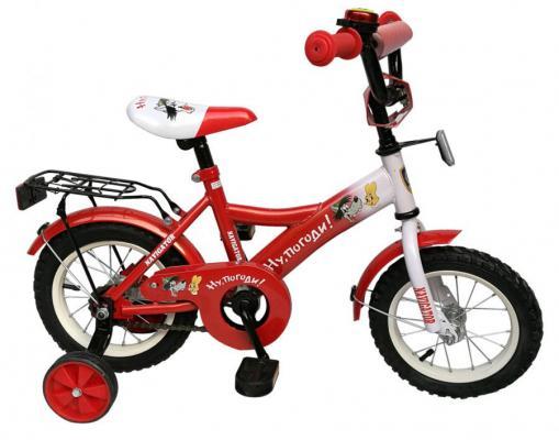 """Велосипед Навигатор Ну, погоди! ВН12106 12"""" черно-красный"""