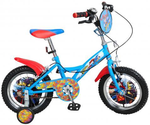 "Велосипед Навигатор Супермен ВН14158 14"" голубой"
