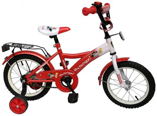 """Велосипед Навигатор """"Ну, погоди!"""" 14"""" красный"""
