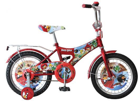"""Велосипед Навигатор Angry Birds 16"""" красный"""