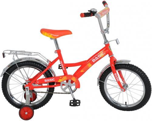 """Велосипед Navigator Basic 16"""" красно-желтый ВН16106"""