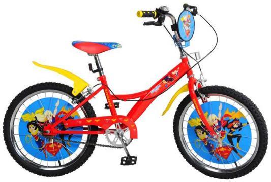 "Велосипед Навигатор Super Hero Girls 16"" красно-желтый"