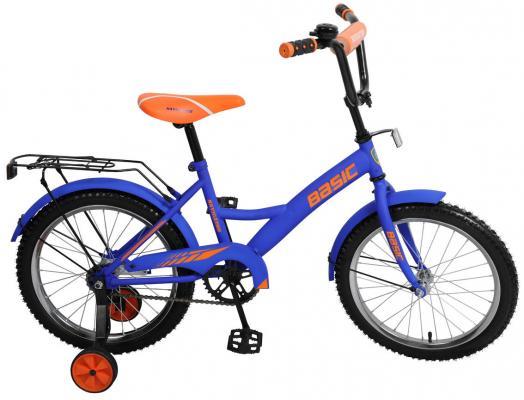 """Велосипед Навигатор Basic 18"""" фиолетово-оранжевый"""