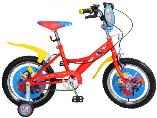 Купить Велосипед Navigator Super Hero Girls 18 разноцветный, Двухколесные велосипеды для детей