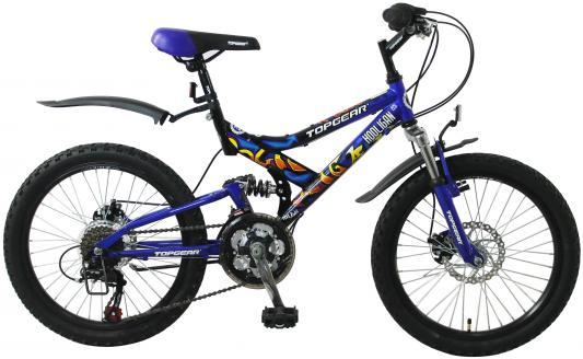 Велосипед Top Gear Hooligan 225 20 синий ВН20038