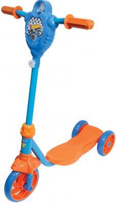 Самокат 1TOY Hot wheels 6/5 синий Т57587 цена