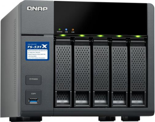 Сетевое хранилище QNAP TS-531X-8G от 123.ru