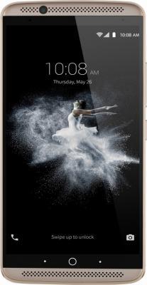 "Смартфон ZTE AXON 7 золотистый 5.5"" 64 Гб LTE NFC Wi-Fi GPS 3G AXON7GOLD"