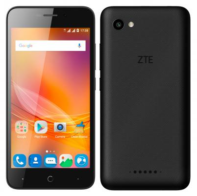 Смартфон ZTE Blade 601 черный 5 8 Гб LTE Wi-Fi GPS 3G BLADEA601BLACK смартфон micromax a107 cosmic grey 4 5 8 гб wi fi gps 3g 4 5 2sim 8гб gps wi fi 3g android 5 0 2000 ма ч