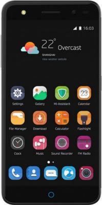 Смартфон ZTE Blade V7 Lite 16 Гб серый (BLADEV7LITE4GGREY) смартфон zte blade a610 16 гб серый