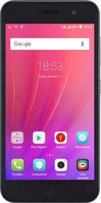 Смартфон ZTE Blade A520 синий 5 16 Гб LTE Wi-Fi GPS 3G BLADEA520BLUE смартфон zte blade a510 серый 5 8 гб lte wi fi gps 3g
