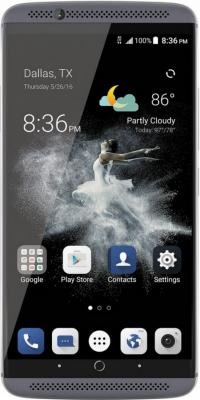 "Смартфон ZTE AXON 7 серый 5.5"" 64 Гб LTE NFC Wi-Fi GPS 3G AXON7GRAY"