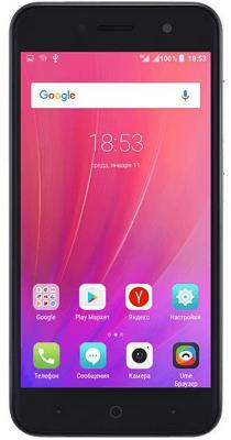 "Смартфон ZTE Blade A520 серый 5"" 16 Гб LTE Wi-Fi GPS 3G BLADEA520GRAY"