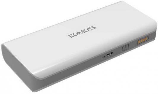 Внешний аккумулятор Romoss solo 5 10000mAh белый
