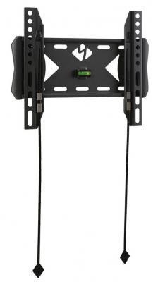 Кронштейн kromax FLAT-5 черный LCD/LED и плазма тв 15-40 настенный VESA 200x200мм kromax lcd 101 black настенный кронштейн для тв