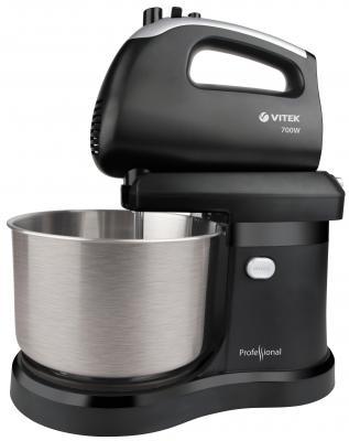 Миксер стационарный Vitek VT-1417(ST) 700 Вт черный серебристый