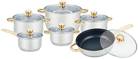 Набор посуды Bekker Premium BK-2717 12 предметов набор посуды bekker bk 2587