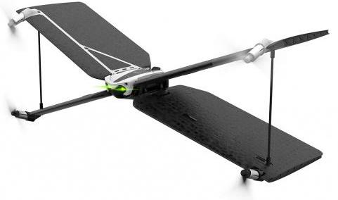 Квадрокоптер Parrot Minidrone Swing + контроллер Parrot Flypad черный PF727013 квадрокоптер parrot bebop drone 2 белый