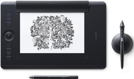 лучшая цена Графический планшет Wacom Intuos Pro Medium Paper Edition PTH-660P-R