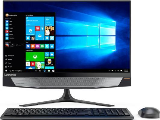 "Моноблок 23.8"" Lenovo IdeaCentre 720-24IKB 1920 x 1080 Intel Core i7-7700 8Gb 1Tb nVidia GeForce GTX 960А 2048 Мб Windows 10 черный F0CM0016RK"