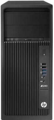 Системный блок HP Z240 MT i7-7700 3.6GHz 16Gb 512Gb SSD HD630 DVD-RW Win10Pro клавиатура мышь черный Y3Y81EA системный блок hp 280 g2 sff i3 6100 4gb 500gb ssd dvd rw win10pro клавиатура мышь черный y5p86ea