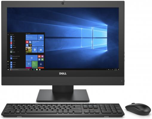 Моноблок 21.5 DELL OptiPlex 5250 1920 x 1080 Intel Core i5-7500 8Gb SSD 256 Intel HD Graphics 630 Windows 10 Professional черный 5250-8398 адаптер dell intel ethernet i350 1gb 4p 540 bbhf