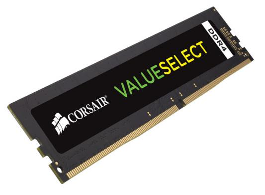 Оперативная память 8Gb (1x8Gb) PC4-19200 2400MHz DDR4 DIMM CL16 Corsair CMV8GX4M1A2400C16 цена и фото