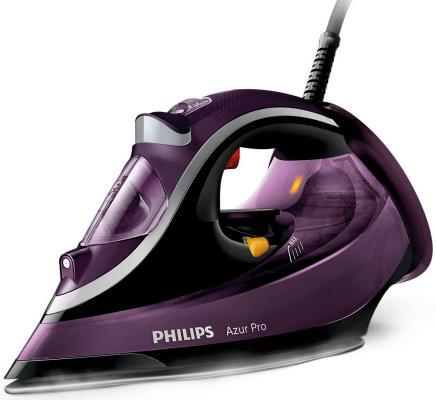 Утюг Philips GC4887/30 3000Вт сиреневый чёрный утюг philips gc5033 80 3000вт черный бронзовый