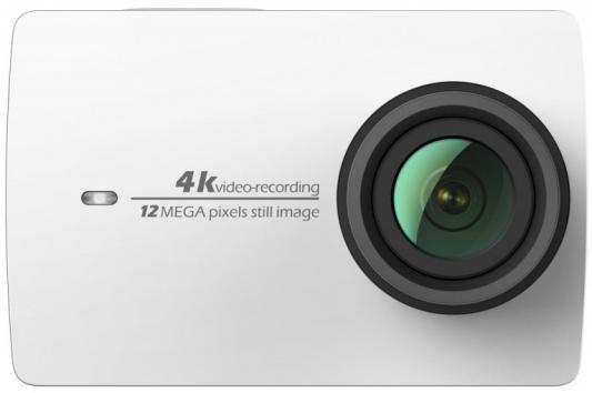 Экшн-камера Xiaomi YI 4K Travel Edition белый