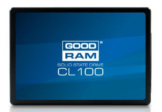 Твердотельный накопитель SSD 2.5 240Gb Goodram CL100 Read 510Mb/s Write 400Mb/s SATAIII SSDPR-CL100-240 твердотельный накопитель ssd 2 5 240gb leven js300 read 560mb s write 510mb s sataiii js300ssd240gb