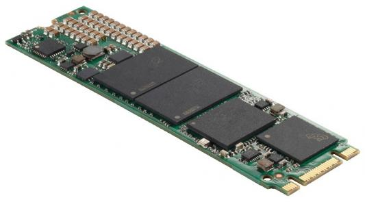 Твердотельный накопитель SSD M.2 256Gb Crucial Micron 1100 Read 530Mb/s Write 500Mb/s SATAIII MTFDDAV256TBN-1AR1ZABYY твердотельный накопитель ssd m 2 64gb transcend mts600 read 560mb s write 310mb s sataiii ts64gmts600