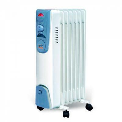 Масляный радиатор Irit IR-07-1507 1500 Вт термостат белый