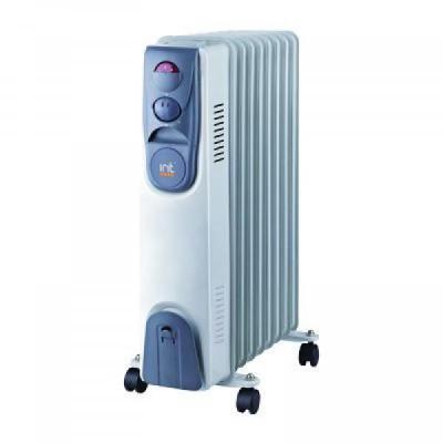 Масляный радиатор Irit IR-07-2009 2000 Вт термостат белый