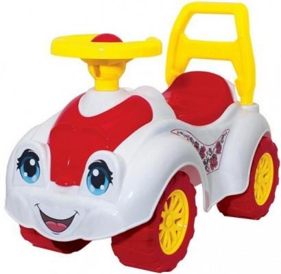 Каталка-машинка Rich Toys Zoo Animal Planet Заяц бело-розовый от 8 месяцев пластик Т3503к каталка машинка rich toys джипик police пластик от 8 месяцев с клаксоном красный ор105