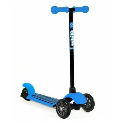 Купить Самокат трехколёсный GLIDER MINI blue 12 /8 голубой, Y-Bike, Трехколесные самокаты для детей