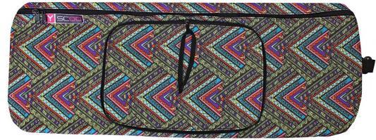 Чехол-портмоне Y-SCOO для самоката 180 - Этно рисунок складной разноцветный