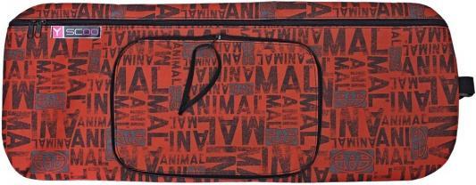 Чехол-портмоне Y-SCOO для самоката 125 - Animal складной коричневый
