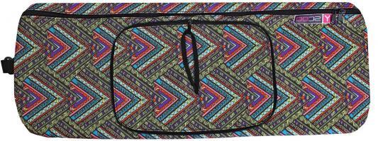 Чехол-портмоне Y-SCOO для самоката 125 - Этно рисунок складной разноцветный