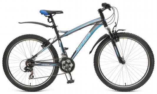 "Велосипед Top Gear ""Energy"" 26"" серо-голубой 410AL"