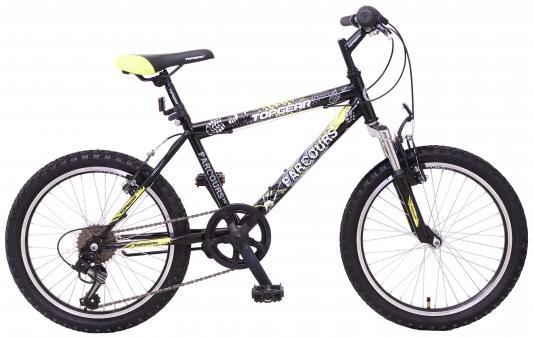 Велосипед Top Gear Parcours 210 20 желто-черный qian xu паук подушка мягкий велосипед седло мат горный велосипед дорога велосипед горный велосипед комфорт велосипед подушка покры