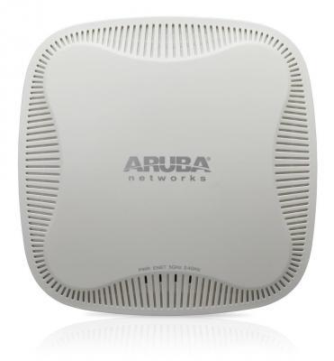 Точка доступа HP Aruba IAP-103 802.11n 802.11n 300Mbps 2.4 ГГц 5 ГГц 1xLAN RJ-45 белый