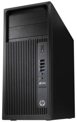 Системный блок HP Z240 i5-7600 3.5GHz 4Gb 1Tb HD630 DVD-RW Win10Pro черный Y3Y77EA