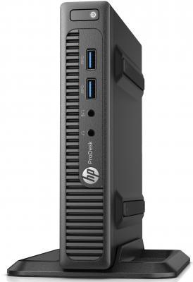 Неттоп HP ProDesk 400 G3 DM Intel Core i5-7500T 4Gb 500Gb Intel HD Graphics Windows 10 Professional черный серебристый 1EX77EA