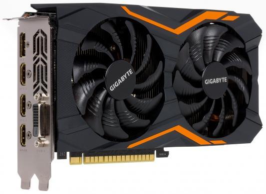 Видеокарта 2048Mb Gigabyte GeForce GTX1050 PCI-E 128bit GDDR5 DVI HDMI DP HDCP GV-N1050WF2-2GD Retail