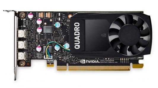 Видеокарта 2048Mb PNY Quadro P400 PCI-E 64bit GDDR5 miniDP VCQP400-PB Retail