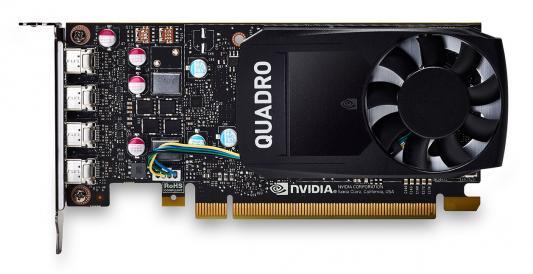 Видеокарта PNY Quadro P600 VCQP600DVI-PB PCI-E 2048Mb 128 Bit Retail видеокарта 2048mb pny quadro p400 pci e 64bit gddr5 minidp vcqp400 pb retail