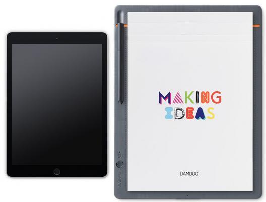 Графический планшет Wacom Bamboo Slate large CDS-810S графический планшет wacom bamboo folio small cds 610g