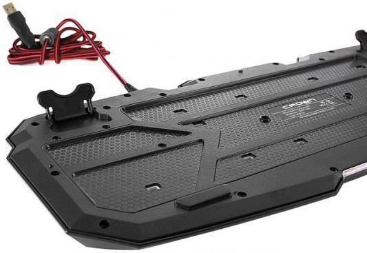 Клавиатура проводная Crown CMKG-100 USB черный от 123.ru