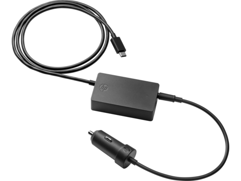 Автомобильный блок питания для ноутбука HP USB-C Auto Adapter для HP Elite x2 1012 G2/Pro x2 612 G2/HP x2 210 Tablet/Elite x3/Elite Tablet x2 1012 G1/HP x2 210 Tablet G1/Pro Tablet 608 G1