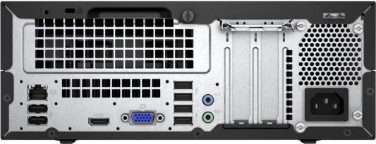 Системный блок HP 280 G2 G4400 3.3GHz 4Gb 500Gb HD510 DVD-RW Win10Pro клавиатура мышь черный Y5P88EA